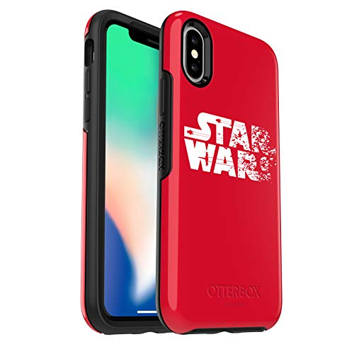 - OtterBox SYMMETRY SERIES Star Wars Case for iPhone Xs & iPhone X - Retail Packaging - Resistance Red