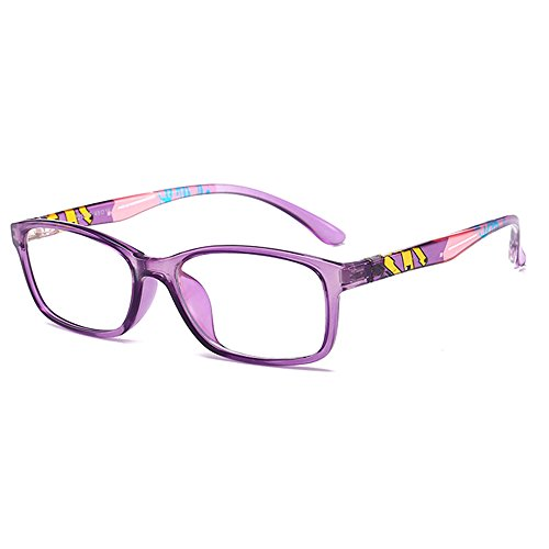 Fantia Unisex Child Non-Prescription Glasses Frame Clear Lens Kids Eyeglasses - Glasses Girls