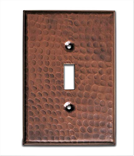 Monarch Pure Copper Hammered Single Wall Plate