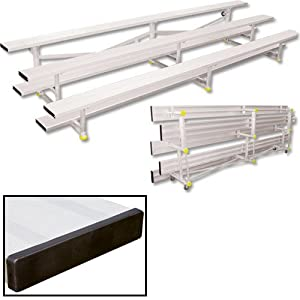3 Row 27 ft. Tip-N-Roll Bleacher - Seats 54 from Sport Supply Group