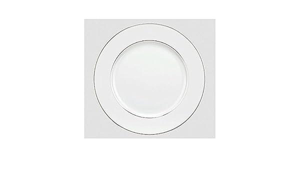 Christofle Albi Platinum 8,25 pulgadas Ensalada o plato de postre: Amazon.es: Hogar