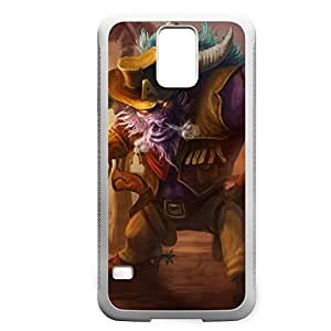Alistar-004 League of Legends LoL case cover Samsung Galaxy Note2 N7100/N7102 - Rubber White