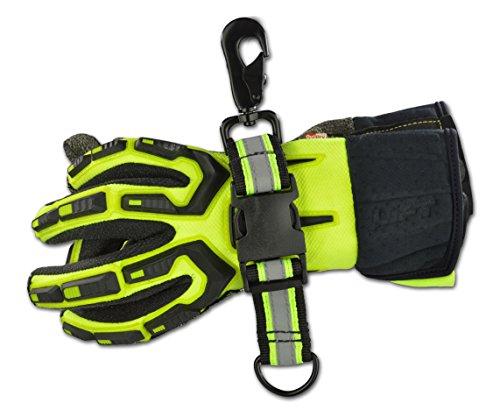 Heavy Duty Reflective Tape : Lightning heavy duty ballistic nylon glove strap