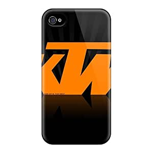 Protective Hard Phone Covers For Iphone 6 (DPe18404ongO) Customized Lifelike Ktm Skin