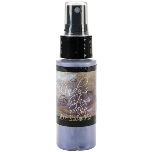 Price comparison product image Lindy's Stamp Gang Moon Shadow Mist Spray Paint,  2-Ounce Bottle,  Bluebeard Blue Violet