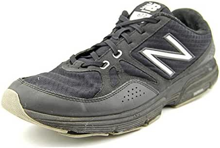 NEW BALANCE MENS MX677BK TRAINERS