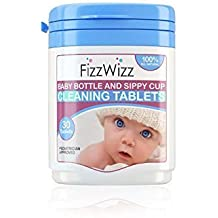 [Patrocinado] Fizzwizz Baby Bottle & Sippy Cup Cleaning Tablets 30 Tablets / On the Go / All- Natural