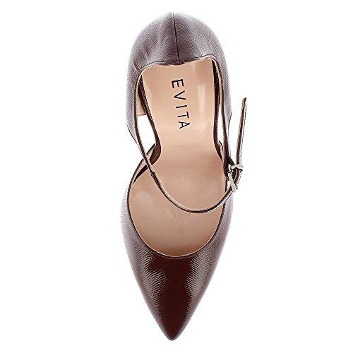 Evita Shoes Lisa - Zapatos de vestir de Otra Piel para mujer marrón