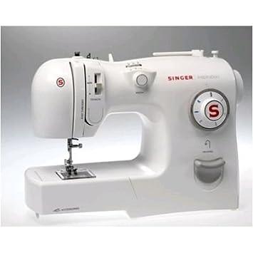 SINGER Inspiration 4205 - Máquina de coser (Máquina de coser automática, Blanco, Costura, Paso 4, 5 mm, Giratorio): Amazon.es: Hogar
