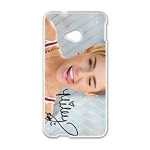Happy Miley Cell Phone Case for HTC One M7