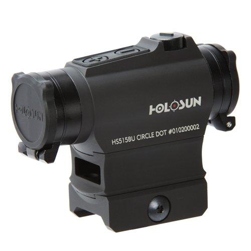 HOLOSUN  Circle Dot Sight, 2 MOA Dot, Black by HOLOSUN