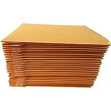 "AZ-Cover AZC025  Kraft Bubble Mailer, #0, 6"" x 9"", Pack of 25"