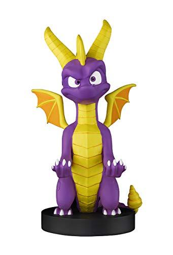 Cable guy Spyro the dragon, soporte de sujecion o carga para mando de consola y/o smartphone de tu personaje favorito con licencia de Activision Producto con licencia oficial Exquisite Gaming