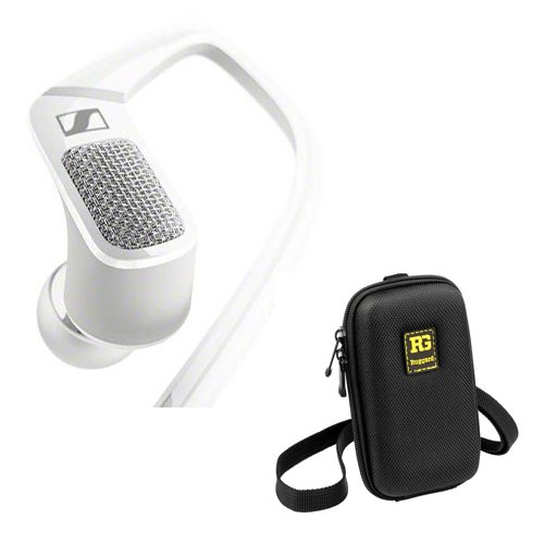 Sennheiser AMBEO Smart Headset in-Ear Headphones and HFV-220 Protective Case