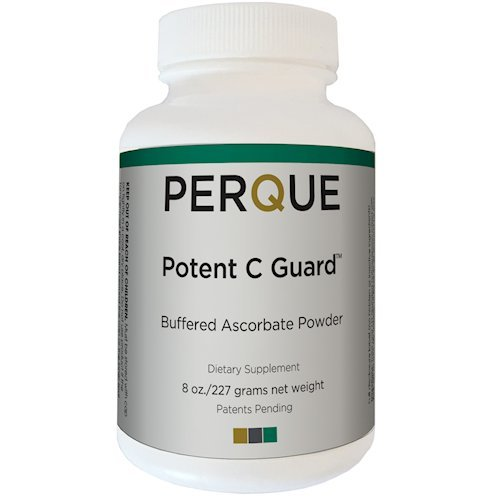 Ascorbate Powder (Perque Potenet C Guard Powder, 8 Ounce)