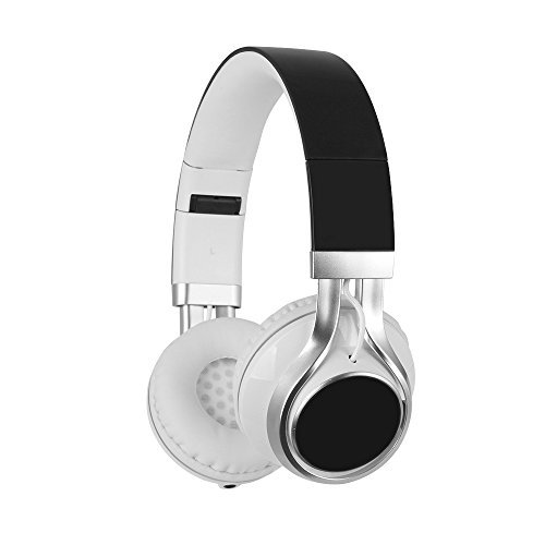 YHhao Over-Ear Headphones Noise-Cancelling Foldable Headphones with Mic and 3.5mm Detach-able Cord for iPhone, iPad, Android Smartphones, PC, Computer, Laptop, Mac, Tablet, DarkBlack
