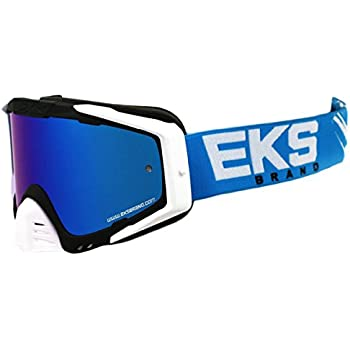 EKS Outrigger Motorcycle Goggles Mens Stealth Black
