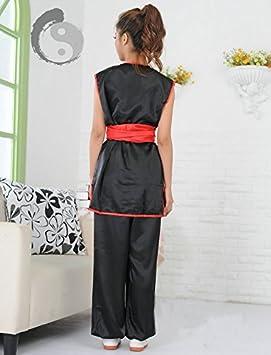 Amazon.com: Chino tradicional Wushu artes marciales uniforme ...