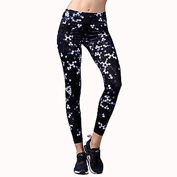 Wuyulunbi@ Pantalones de yoga Panties Bottoms elástico ...
