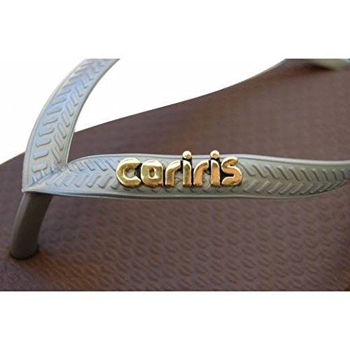 Tong CARIRIS SLIM TAG - marron - 35/36 longueur 243 mm