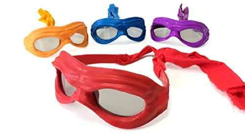 Teenage Ninja Turtle RealD 3D Glasses TMNT Set of 4 Movie Exclusive]()