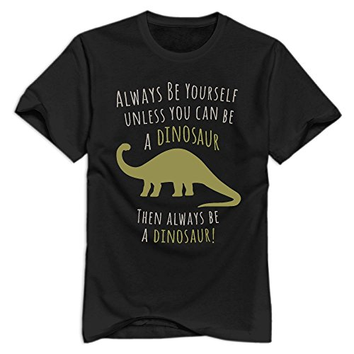Unless You Can Be A Dinosaur Logo Organic Cotton Standard Weight T-Shirt For - I Clothing Online Can Buy Lf Where