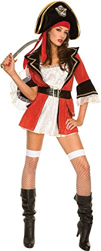 ToBeInStyle Women's Captain Wench Costume - (Sexy Wench Outfit)