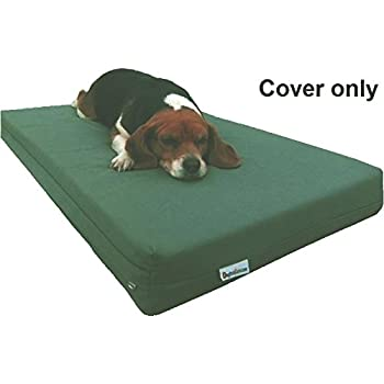 """Dogbed4less Heavy Duty Canvas Duvet Pet Dog Bed Cover 37""""X27"""" Medium Large - Replacement Cover only"""