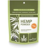 Navitas Naturals Organic Raw Hemp Protein Powder, 12 Ounce Pouches