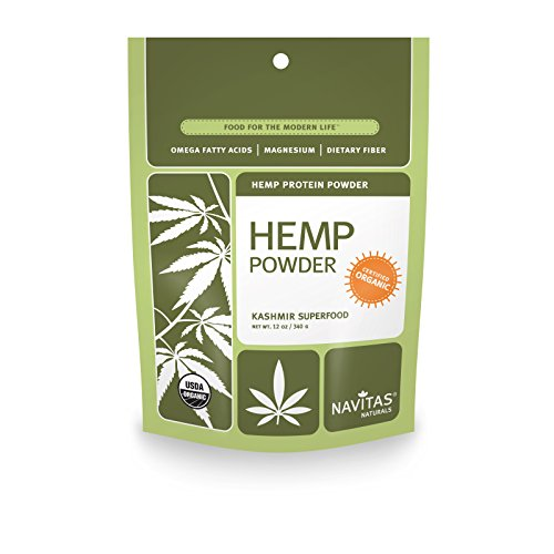 Navitas Naturals Organic Hemp Protein Powder, 12 Ounce Pouches