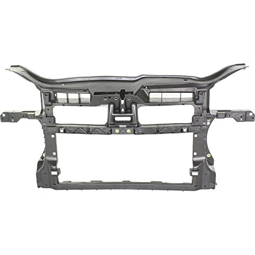 Radiator Support for Volkswagen Jetta 05-10 Assembly Black Plastic