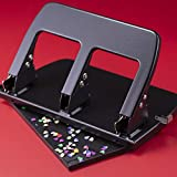 Officemate Medium Duty 3 Hole Punch with Ergonomic