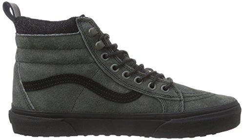 VANS Classic SK8-HI MTE Scochguard 3M Sneaker skate leater Gris (Mte/Denim/Black)