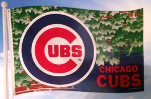 Officially Licensed MLB Chicago Cubs Ivy Flag 3'x5'