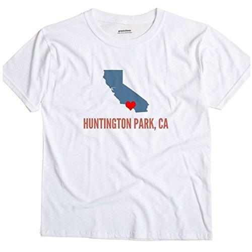 GreatCitees Huntington Park California CA Heart Unisex Souvenir