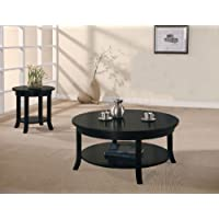 ACME Gardena Black End Table