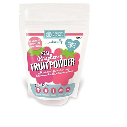 Squires Kitchen Real Fruit Powder Raspberry - 75g (0.17lbs)