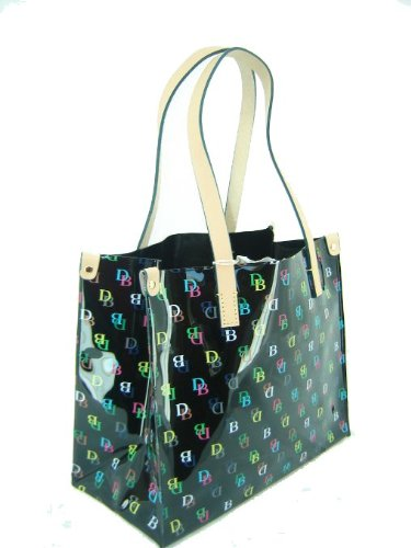 Dooney & Bourke Medium IT Shopper Tote Handbag Purse Black ()