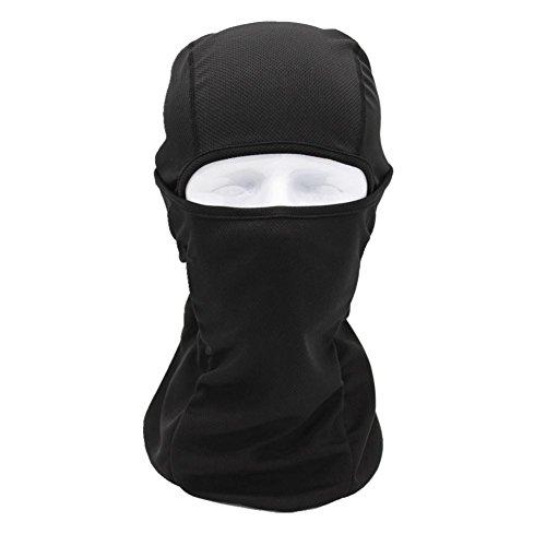 Chartsea Tactical Motorcycle Cycling Hunting Outdoor Ski Full Face Mask Helmet (Black)