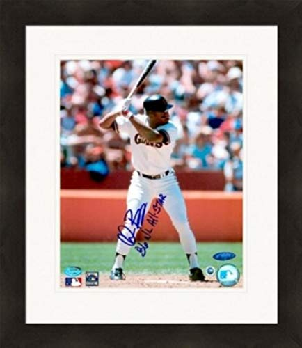 Chris Brown autographed 8x10 Photo (San Francisco Giants) Matted & Framed