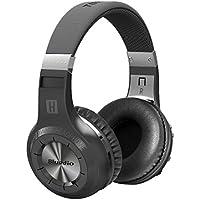 Bluedio 1566998 H Plus Turbine Wireless Bluetooth 4.1 Stereo Headphones with Mic/Micro SD Card Slot/FM Radio, Black
