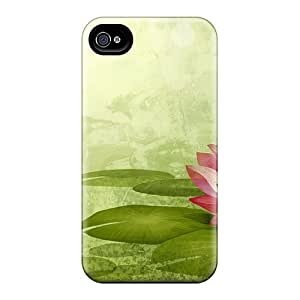 Case Cover The Water Lily/ Fashionable Case For Iphone 4/4s