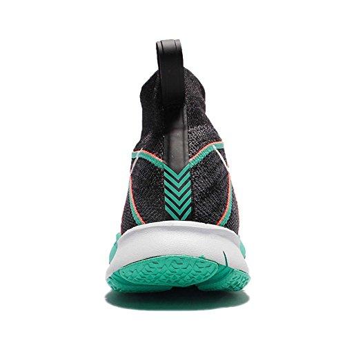 Nike Mens Free Train Flyknit Scarpe Da Corsa Nero / Bianco-brillante Mango-iper Giada