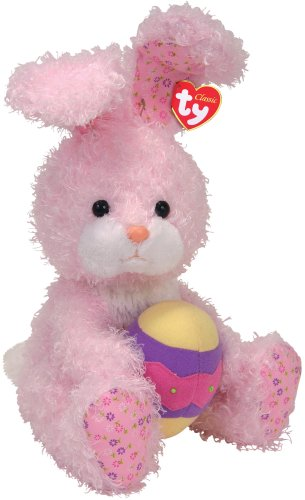 Amazon.com  Ty Eggsworth - Pink Rabbit with Egg  Toys   Games 52b18917ddf