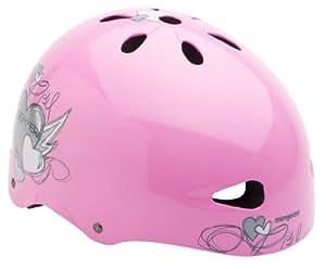 Mongoose Heart Youth Street Helmet (Pink, Girls)