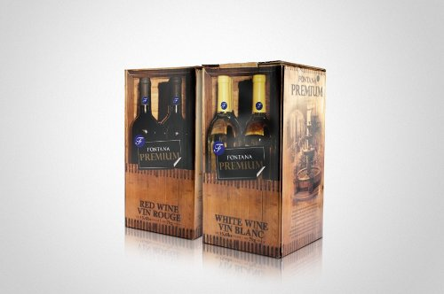 Shiraz Fontana Wine Making Kit, 30 bottles (750ml/each)