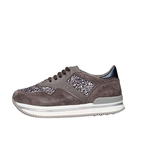 Hogan Junior HXC2220N624E9C0XGI Sneaker Kind Grau