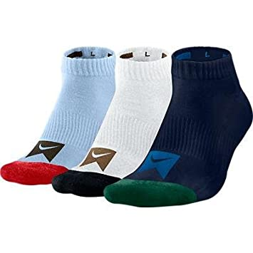 7173ac709c028 Amazon.com: Nike SB 3 Pack Nike Dri-Fit Ankle Socks (Multicolor) One ...