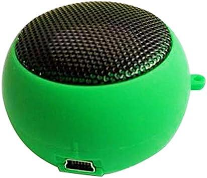 Mini Altavoz portátil portátil Música Altavoz Reproductor de Moda al ...