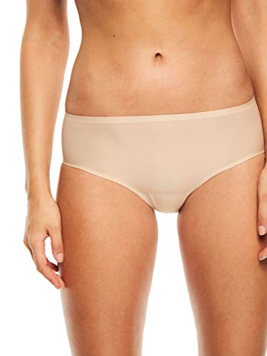 Chantelle Women's Soft Stretch One Size Regular Rise Hipster, Ultra Nude